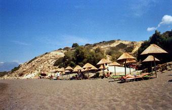 Komos strand